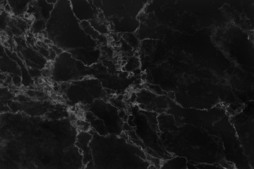 Black marble texture background, abstract marble texture (natural patterns) for design. Black stone floor pattern with high resolution.