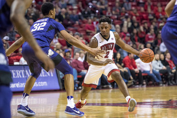NCAA Basketball: Texas Christian at UNLV