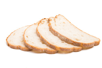 slices of bread sliced