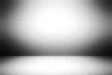 Серый пиксельный фон с освещением по центру. Векторная иллюстрация для Вашего дизайн проекта.
