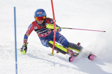 Alpine Skiing: Audi FIS Skiing World Cup - Ladies Slalom