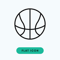 Basketball vector icon