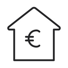 Investment property real estate vector icon