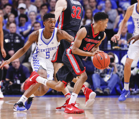 NCAA Basketball: Georgia at Kentucky