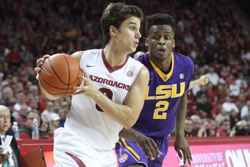 NCAA Basketball: Louisiana State at Arkansas