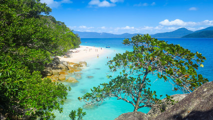 Visiting Fitzroy Island in the Great Barrier Reef, Queensland