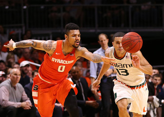 NCAA Basketball: Syracuse at Miami