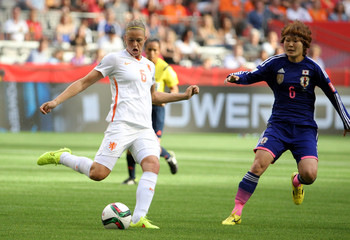 Soccer: Women's World Cup-Japan at Netherlands