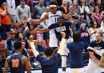 NCAA Basketball: Big West Conference Tournament-Cal State Fullerton vs UC Davis