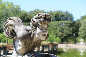 Statue dans le jardin de Boboli, florence