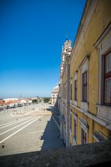 Portugal: el Convento Real y Palacio de Mafra, palacio barroco y neoclásico - monasterio al lado de Lisboa