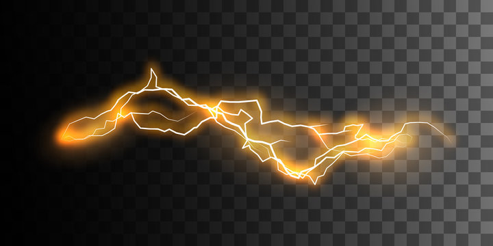 Visual electricity effect.