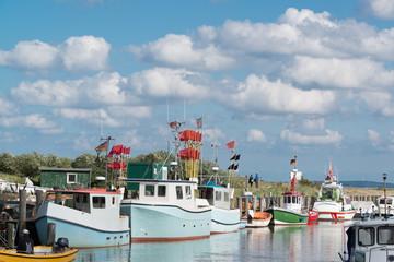 Fischereihafenafen Lippe an der Hohwachter Bucht