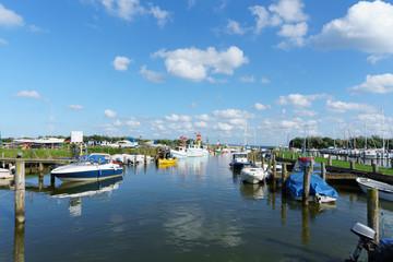 Marina und Hafen Lippe an der Ostsee