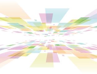 背景 デジタル カラフル