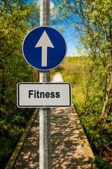 Schild 239 - Fitness