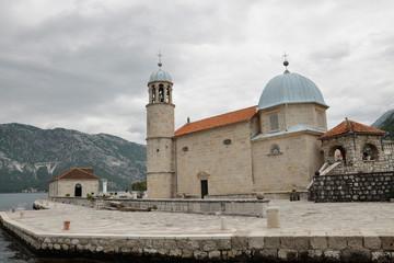 Bay of Kotor Church Islands, Montenegro