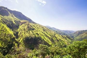 Ravana mountains near Ella in Sir Lanka