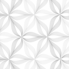 Abstract linear petal flower for wallpaper or texture