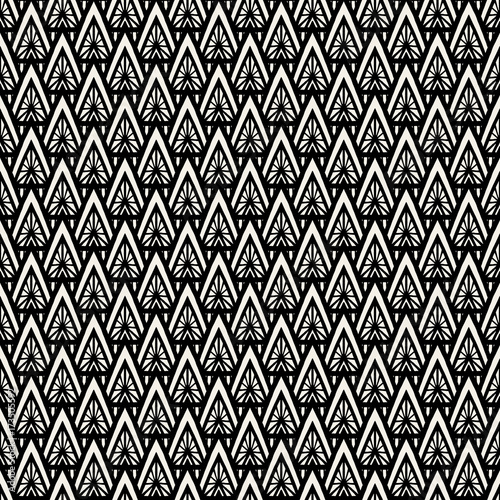 Geometric Pattern Vector Seamless Abstract Modern Scale Texture