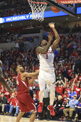 NCAA Basketball: Arkansas at Mississippi
