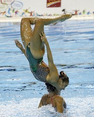 Pan Am Games: Synchronized Swimming
