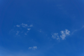 beautiful blue sky with clouds for background