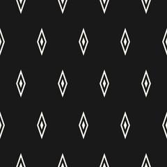 Argyle vector seamless pattern, diamonds geometric texture with rhombuses