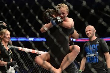 MMA: UFC Fight Night-Herrig vs VanZant