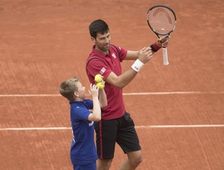 Tennis: French Open Djokovic vs Berdych