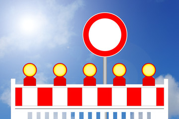 Baustelle Durchfahrt verboten
