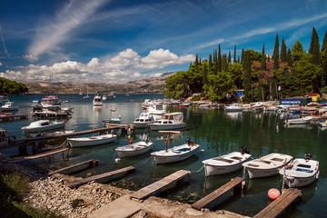 The coast of Croatia. Dubrovnik.