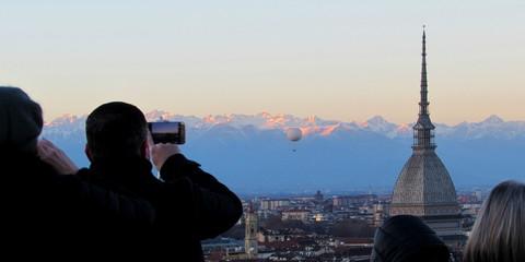 Turisti a Torino - Mole Antonelliana
