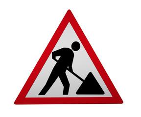 Verkehrszeichen: Arbeitsstelle