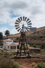 Wasserpumpe, Windrad