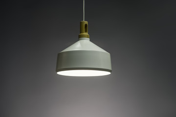 Modern Pendant light lamp illuminated, Elegant Chandelier illuminated