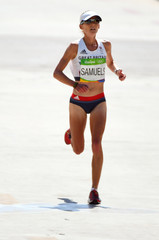 Olympics: Track and Field-Women's Marathon