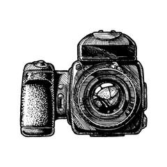 illustration of Medium format camera