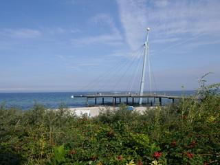 """Urlaub am Meer, Hohwacht, Seebrücke """"Hohwachter Flunder"""""""