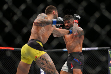 MMA: UFC Fight Night-Good vs Zaleski Dos Santos