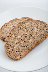 sliced Whole Wheat Bread texture