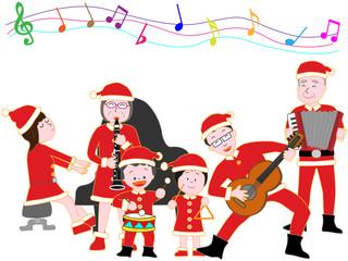 家族でクリスマスコンサート