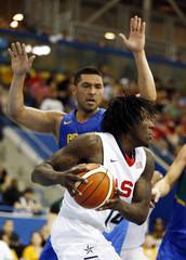 Pan Am Games: Basketball-United States vs Brazil