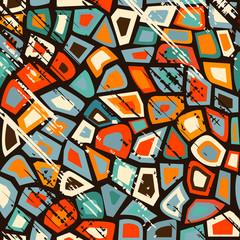 Grunge vintage mosaic