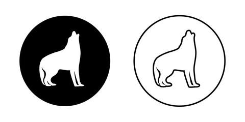 Two dog logos