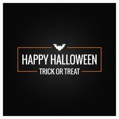 halloween party logo design background