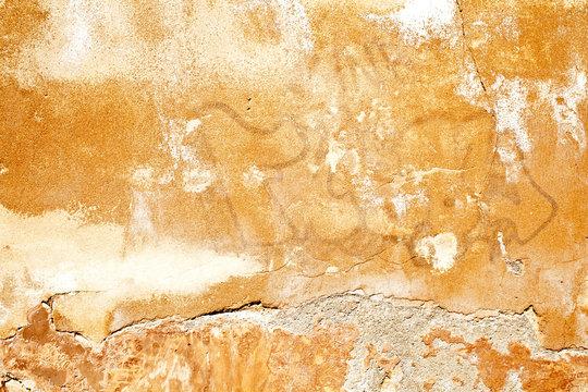 Texture Stone Chalk Lime Rock Sand Cement Concrete Background Wall Wallpaper Ground Flat Rough Dirty Grunge Yellow Sun Lines Strokes Organic Random Chaos Sprinkler Rip Close Up Graffiti Urban Street