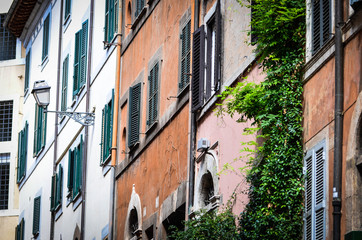 streets of rome - old buildings, arhitecture, colloseum, historical places