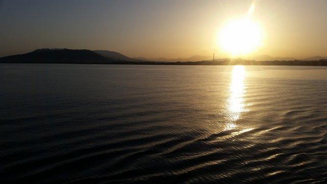 Sonnenuntergang in Valencia