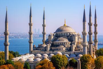 Blue Mosque Sultanahmet Camii, Istanbul, Turkey